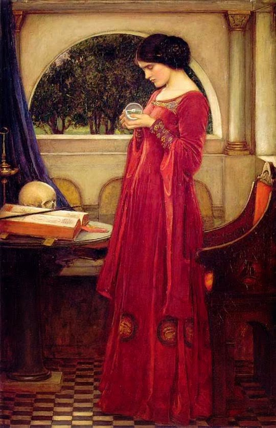 La bola de cristal, 1902. John William Waterhouse