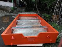 Jonboat aluminium utk BPBD Bangka Belitung