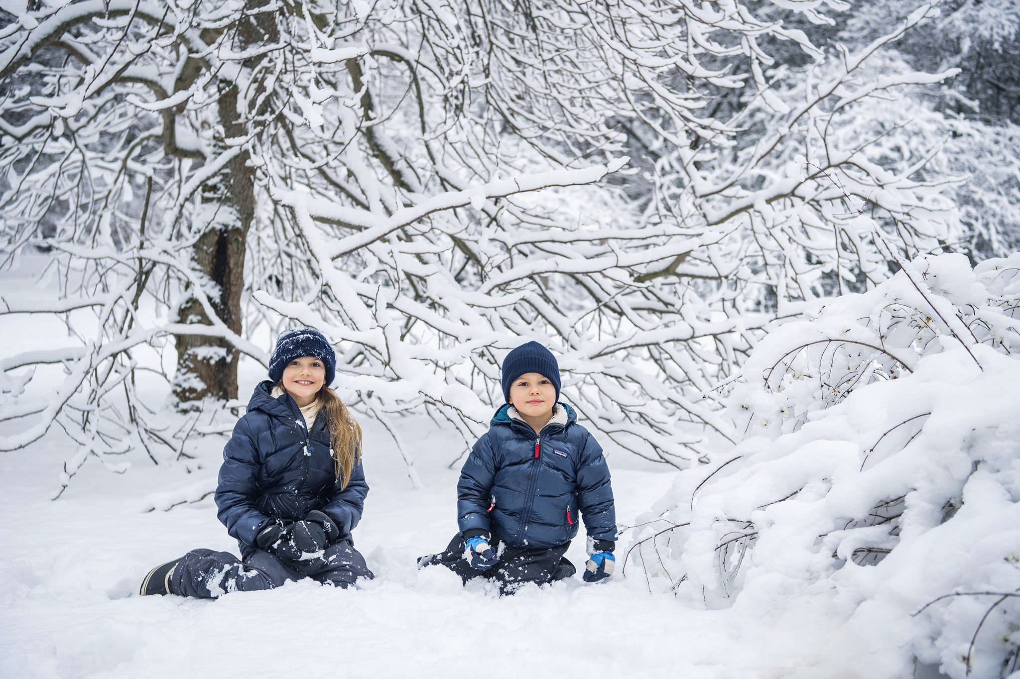 Sweden Crown Princess Victoria and Prince Daniel shared new pictures to mark the 5th birthday of Prince Oscar