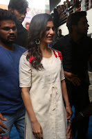 Samantha Ruth Prabhu Smiling Beauty in White Dress Launches VCare Clinic 15 June 2017 094.JPG