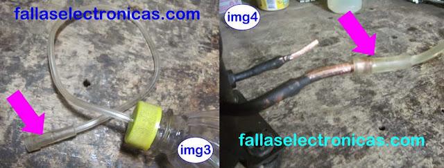 herramienta para cambiar aceite a nevera