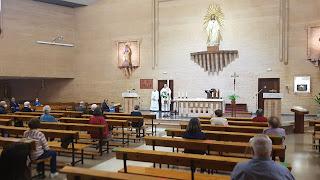 Vuelven los fieles a la parroquia