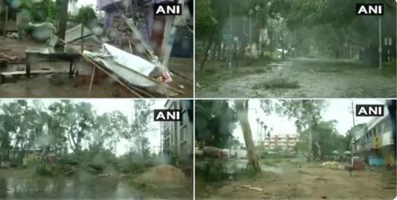 Weather Forecast Super Cyclone Amphan Live Updates: बंगाल और ओडिशा में तूफानी हवाओं के साथ मूसलाधार बारिश, 21 साल बाद फिर तूफान से तबाही का खतरा