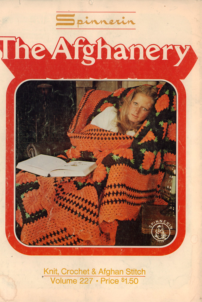 The Afghanery: Wonderful Afghan Knitting Patterns From the 1970s