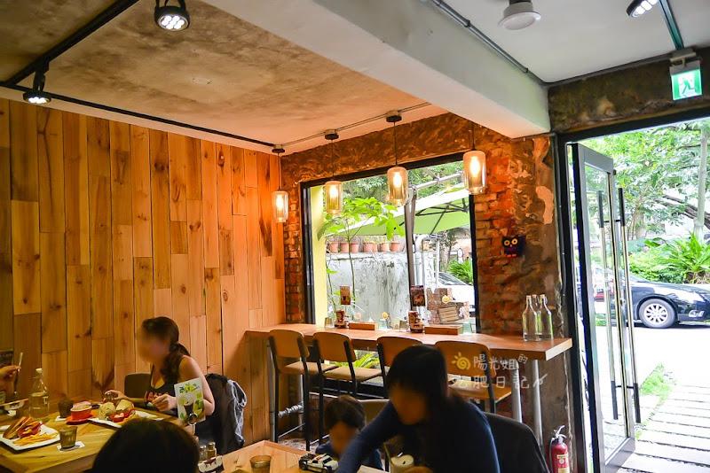 三隻貓頭鷹,科技大樓早午餐,文創咖啡館,科技大樓站必吃餐廳推薦