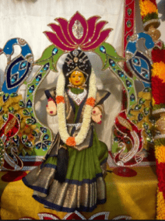 lakshmi vratam decoration