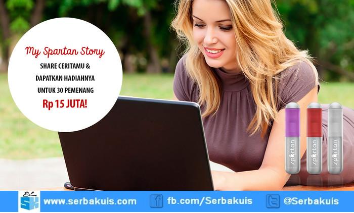 Kontes My Spartan Story Berhadiah Total 15 Juta