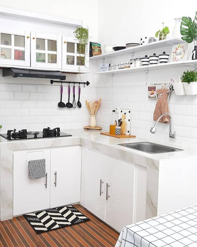 Desain Dapur Minimalis Modern yang Cantik Terbaru