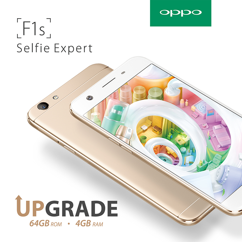 The OPPO F1s With 4 GB RAM And 64 GB ROM Is Priced At Just PHP 13990!