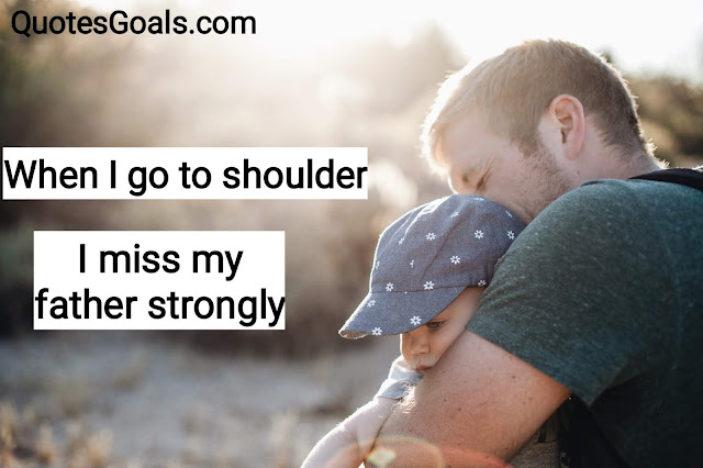 Shayari on father and daughter with Image