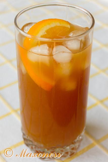 Апельсиновый холодный чай со вкусом эрл грэй