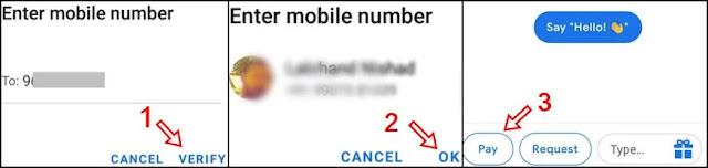 click verify ok and pay