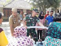 Respon TNI Bantu Kesulitan Rakyat, Datangkan 35 Ribu Liter Air Bersih di Jatimulya Tegal
