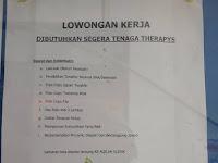 Lowongan Kerja Aqilah Therapyst (Ditutup 3 Nopember 2017)