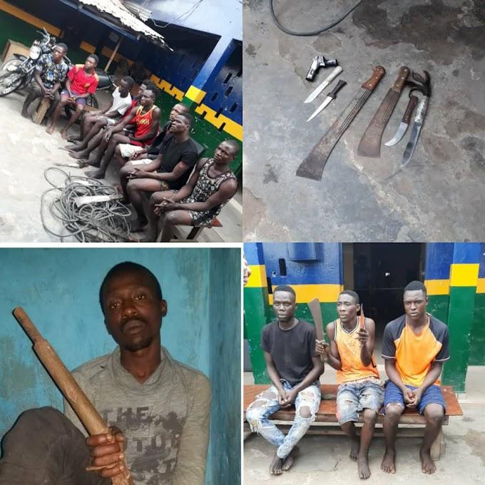 Traffic robbers apprehended in Lagos