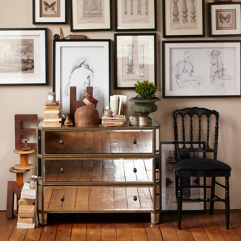 o blog de todas as coisas c moda em espelho. Black Bedroom Furniture Sets. Home Design Ideas