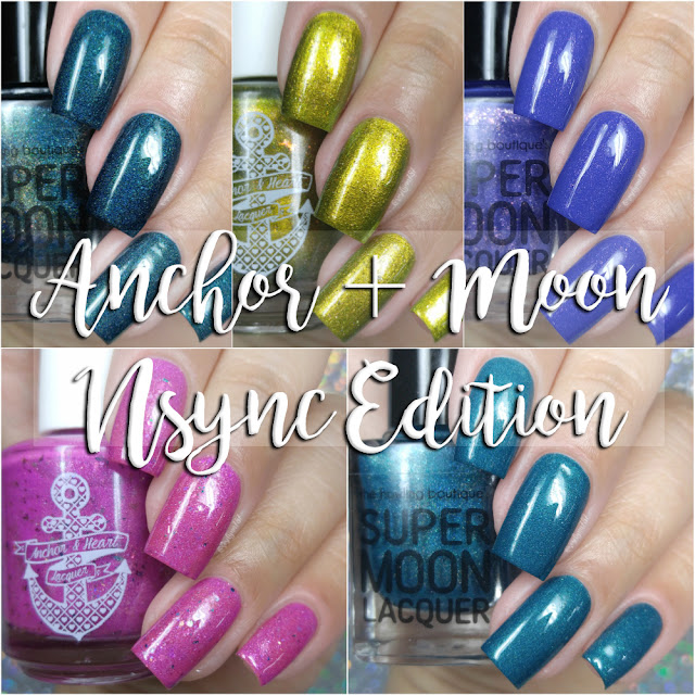 Anchor & Heart Lacquer and Supermoon Lacquer - Nsync Edition