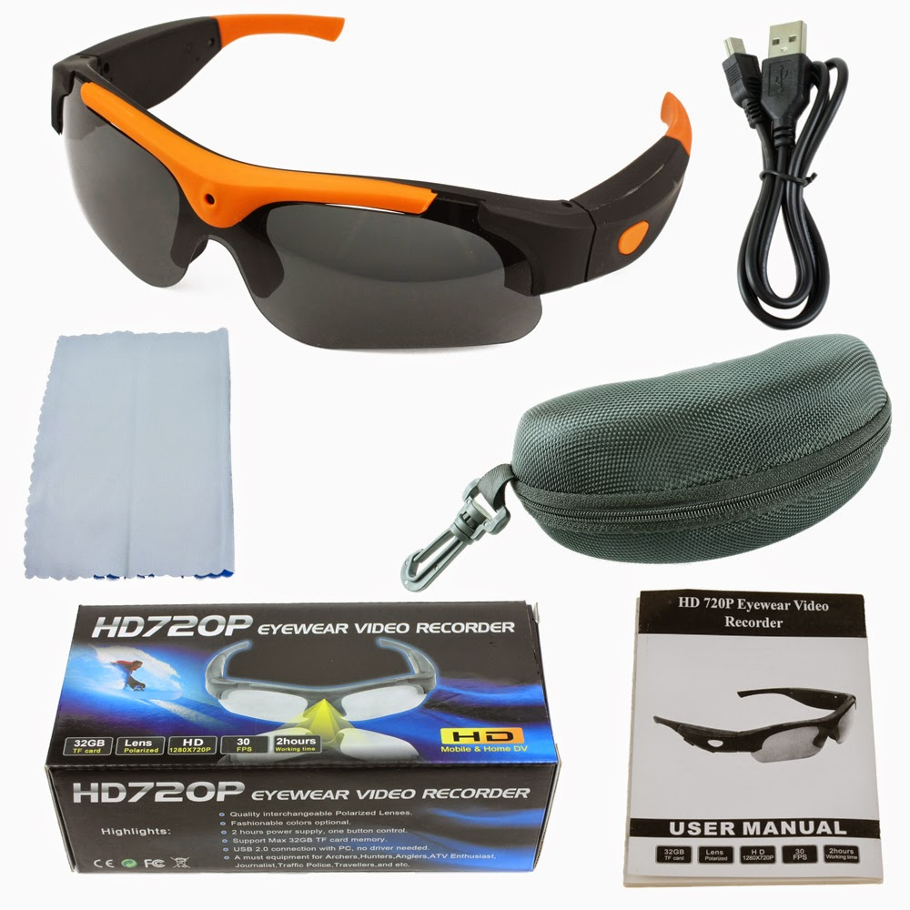 Spy Cam Kacamata Sport HD720P2