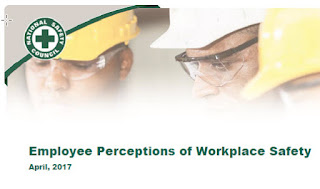 Employee perceptions of workplace safety April 2017