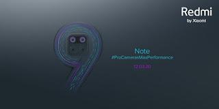 Redmi Note 9 Bakal Rilis 12 Maret Mendatang
