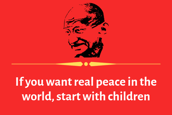 mahatma gandhi quotes on education