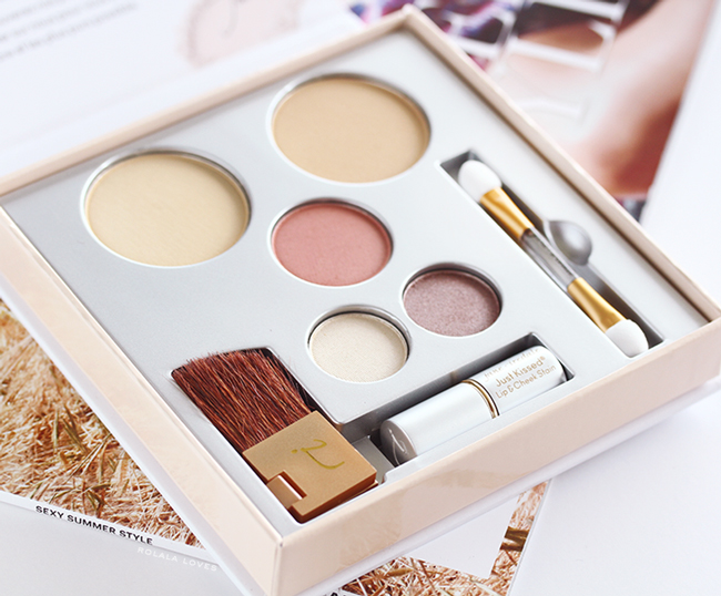 Jane Iredale Pure & Simple Makeup Kit Review, Jane Iredale Review, Jane Iredale Pure & Simple Makeup Kit Swatch, Clean Makeup Palette