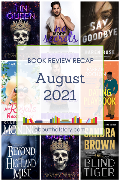 Book Review Recap August 2021   About That Story