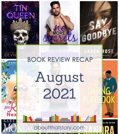 Book Review Recap August 2021