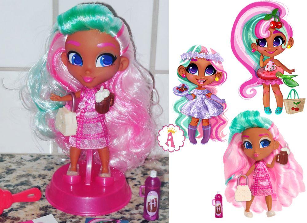 Новая модная кукла Ди-ди из серии 4 Хэрдораблс