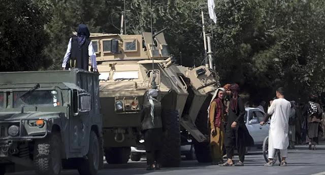 The rapid collapse of the Afghan army allowed the Taliban to seize a huge number of American and Western weapons. Photo: Sputnik