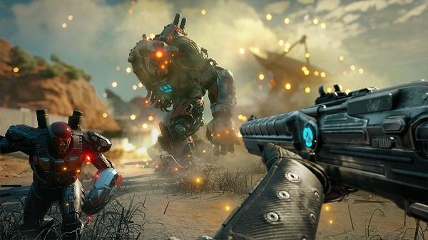 الكشف عن عرض بالفيديو جد مطول للعبة Rage 2 و إستعراض لأسلوب اللعب على جهاز PS4