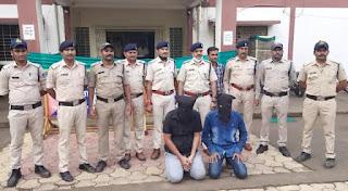 महंगे शौक पूरा करने के लिए आरोपियों चाकू की नोक पर करते थे लुट, बड़वाह पुलिस ने दोनों आरोपियों को पकड़ा