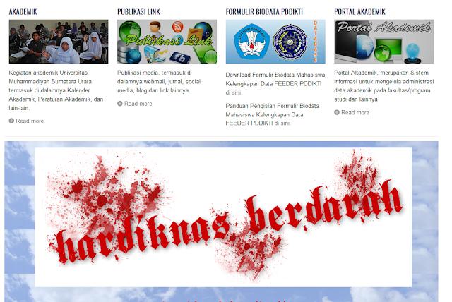 pasca mahasiswa bunuh dosen kini situs resmi Umsu di heck - artikel