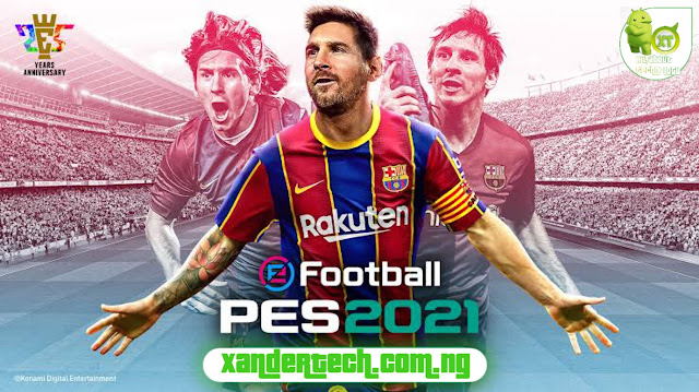 Download PES 2021 ISO PPSSPP- Latest updates