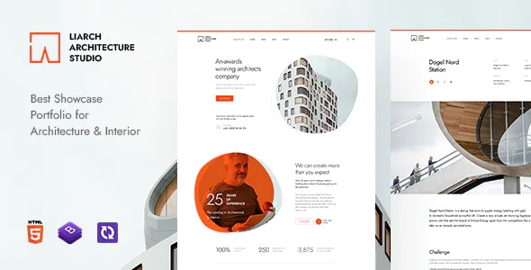 Best Architecture and Interior HTML Template