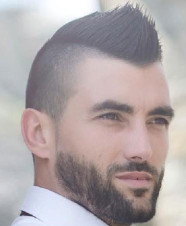 model rambut pria gemuk