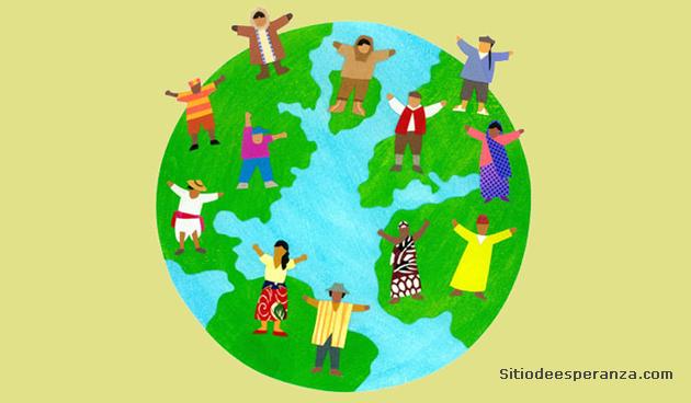Personas de diferentes partes del mundo
