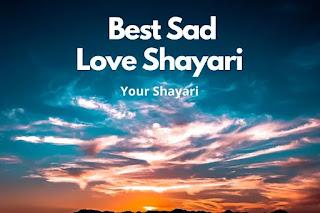 Best Sad Hindi Shayari On Love