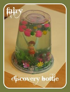 Fairy garden Discovery bottle