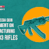 India-Russia sign agreement on manufacturing AK-203 rifles