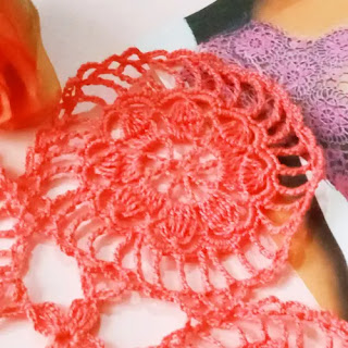 Motivo para Blusa a Crochet