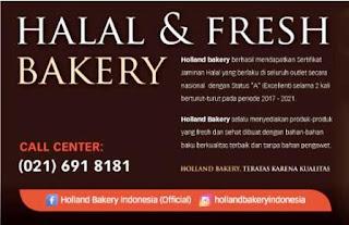 Lowongan Kerja Holland Bakery untuk Lulusan SMA dan SMK