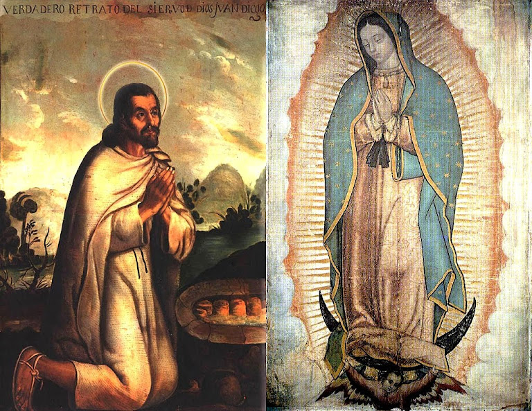 Nossa Senhora de Guadalupe apareceu a São Juan Diego e conquistou o coração dos americanos. Assim, a Mãe de Deus exorcizou esses corações, malgrado as insistências diabólicas sempre ativas.