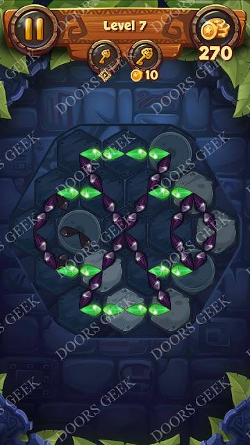 Gems & Magic [Emerald] Level 7 Solution, Walkthrough, Cheats