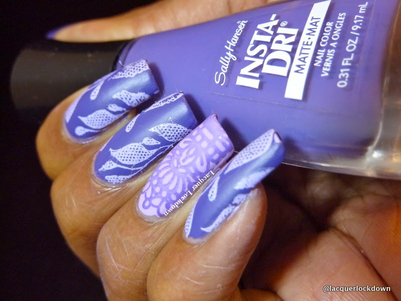 Lacquer Lockdown - Sally Hansen Insta-Dri, Sally Hansen Insta-Dri Matte swatches, sally hansen, nail art, nail art stamping blog, moyou london , Loja BBF, BBF 04, BBF 25, FabUrNails Fun 4, Moyou London Sailor 04, Sailor 04, nail art stamping, nail art stamping blog, cuit nail art, dotticure, mundo de unas stamping polish, stamping, diy nail art, cute nail art ideas