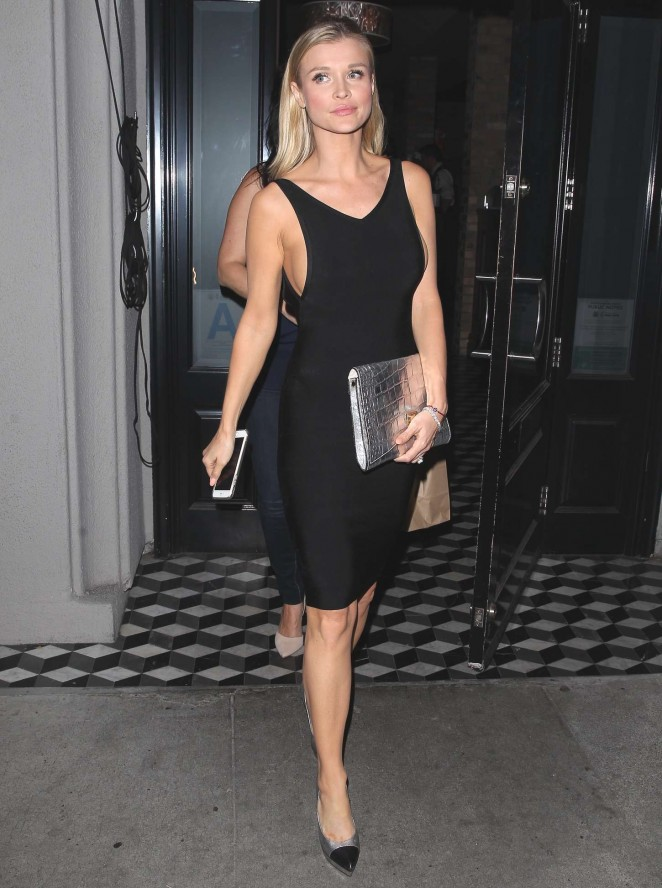 Joanna Krupa Flaunts Curves On Date Night In West Hollywood