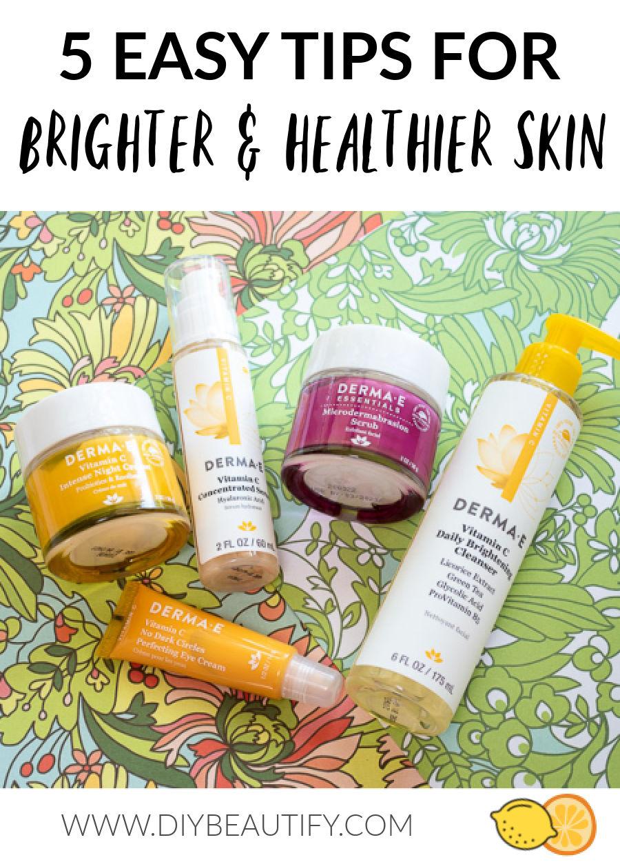 Vitamin C healthy skincare
