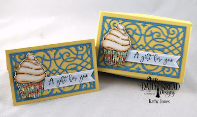 Our Daily Bread Designs Stamp/Die Duos: All God's Blessings, Custom Dies: The Gift Giving Box, Gift Card Holder, A Gift For You, Pennant Flags, Paper Collection: Birthday Bash