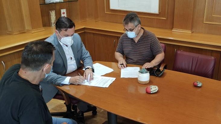 Υπογράφηκε η σύμβαση για την αποκατάσταση του κεντρικού αγωγού υδροδότησης της Αλεξανδρούπολης