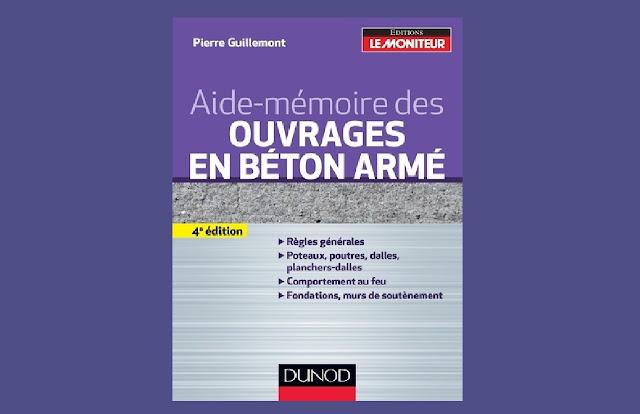 Télécharger Aide-mémoire des ouvrages en béton armé PDF gratuitement